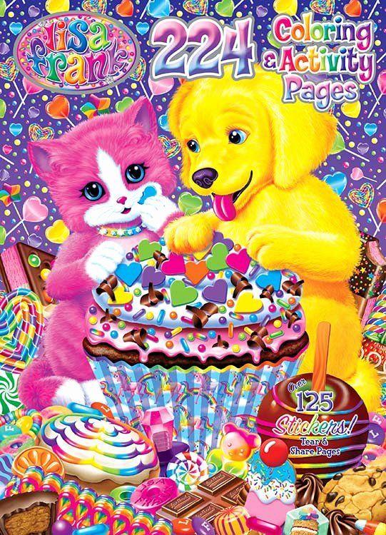 Lisa Frank Coloring Books 2 Asstd.96 pgs.