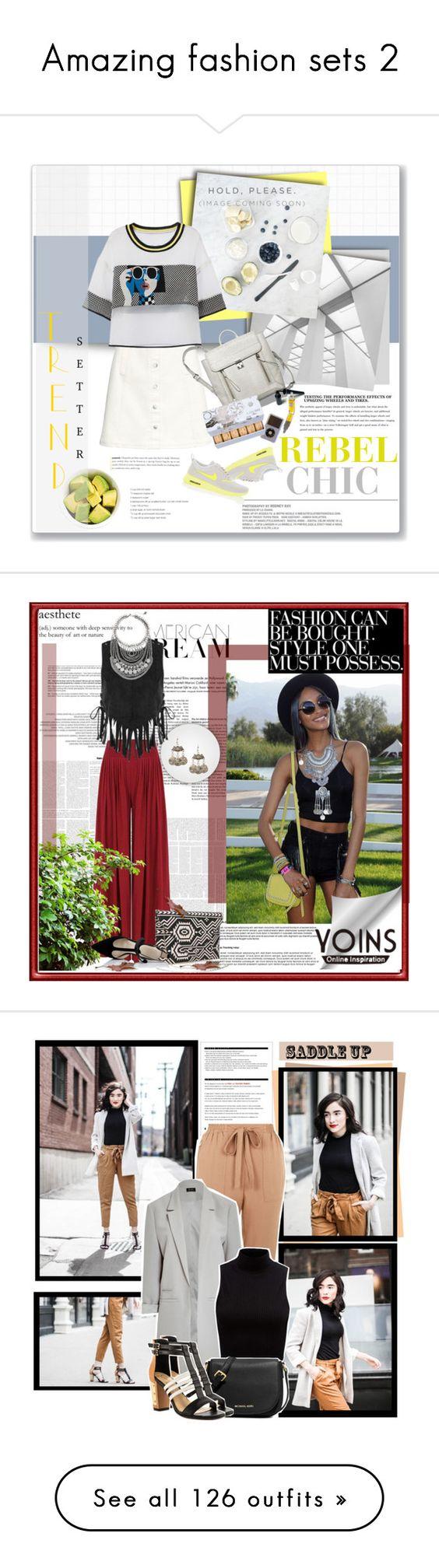 """Amazing fashion sets 2"" by vampirelina ❤ liked on Polyvore"