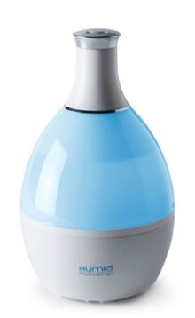 Humio Humidifier & Multi-Color Night Lamp with Aroma Oil Compartment by