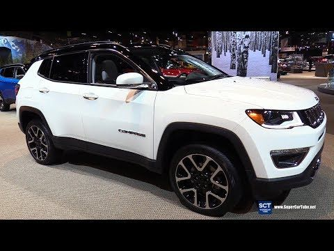 2019 Jeep Compass Limited Exterior And Interior Walkaround 2018 Chicago Auto Show Youtube Jeep Compass Limited Jeep Compass Suv Cars