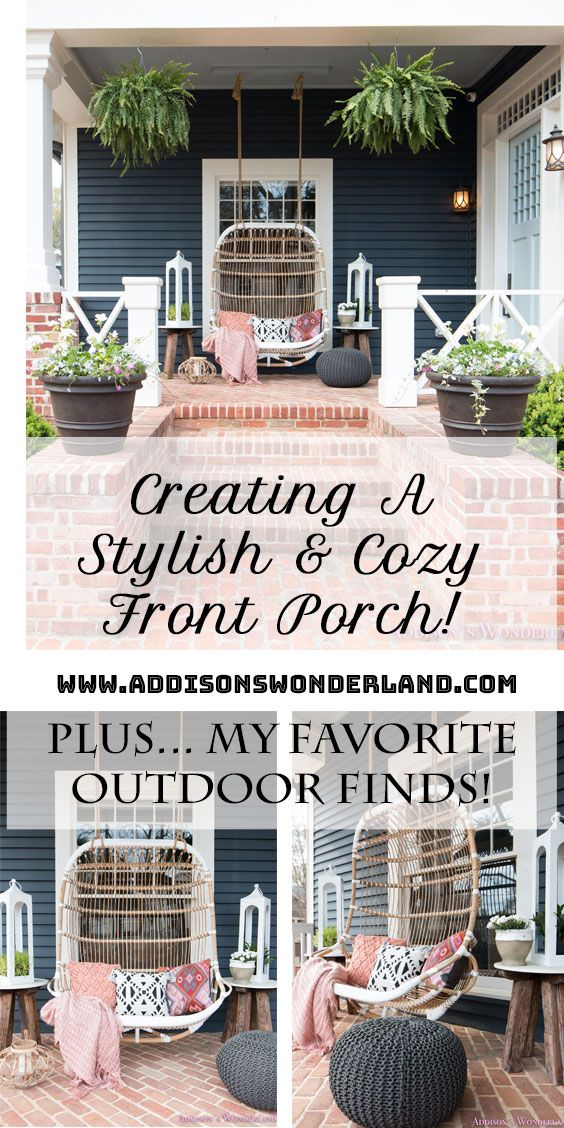 Our Fun Colorful Bohemian Spring Porch Update Reveal Spring