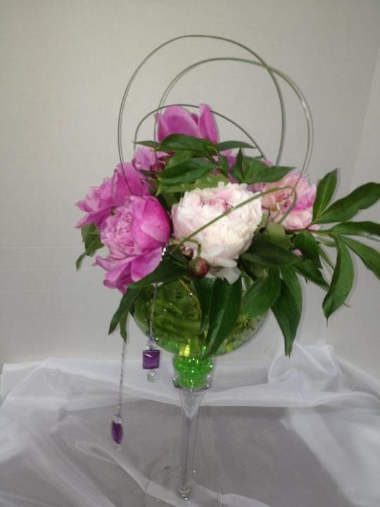 floral arrangements with peonies - Google Search