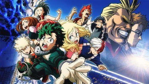 Boku No Hero Academia O Filme Os Dois Herois Hero Academia