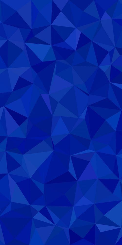 Abstract Geometrical Irregular Triangle Tile Mosaic Pattern