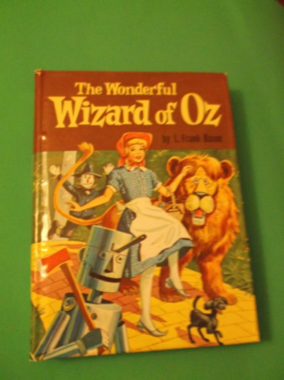 The Wonderful Wizard of Oz L, Frank Baum Whitman Books Pictorial Cover 1957: