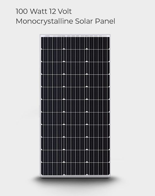 100 Watt 12 Volt Monocrystalline Solar Panel Compact Design In 2020 Monocrystalline Solar Panels Solar Panels Solar Power Kits