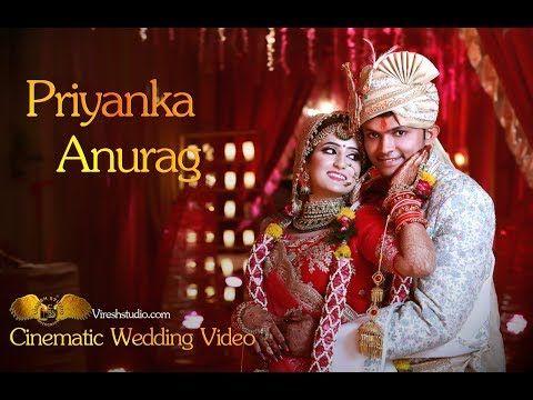 Wedding Highlight Priyanka Anurag Short Wedding Video Best Wedding Photographer Youtube Wedding Highlights Wedding Photo Studio Wedding Video