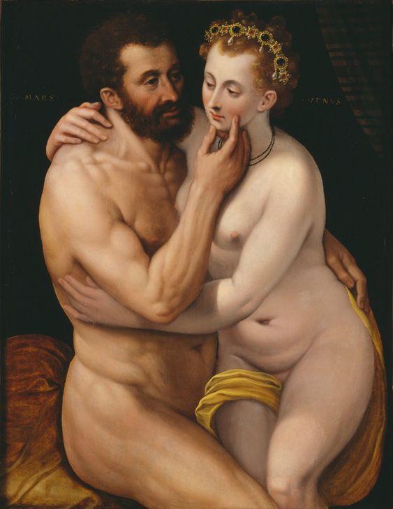 Mars and Venus - Frans Floris de Vriendt