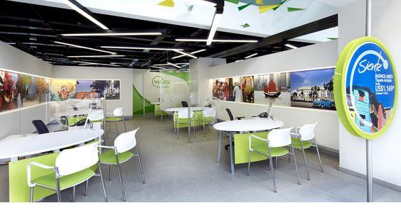 Travel agency interior google zoeken traveling for Agency interior design ideas