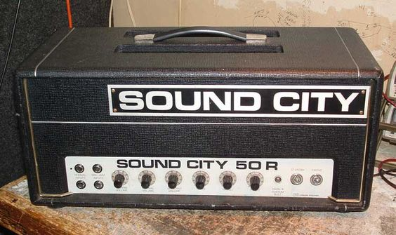 Sound city guitar amp.