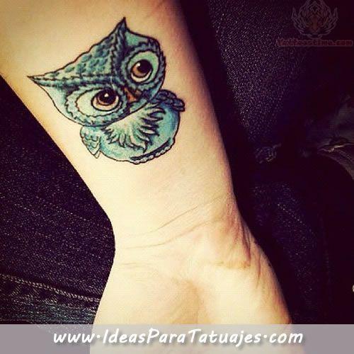 tatuajes de buhos pequeños para mujeres , Buscar con Google