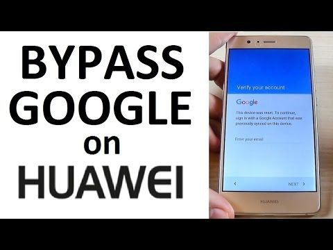 Bypass Google Account Huawei Mate 8 Honor 8 P8 P9 Lite Remove Factory Reset Protection Frp Youtube Youtube Huawei How To Remove