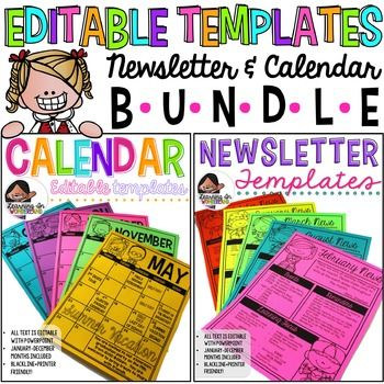 1dfab9c97332335536b725d3a778c522 Technology Newsletter With Calendar Template Editable on google free, elementary school, free energy, owl classroom, for student, december classroom, parent weekly, free community, monthly classroom, downloadable digital,