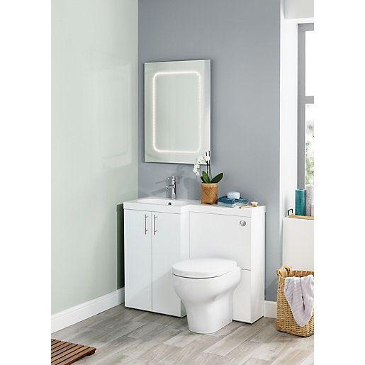 Pin By April Cannon On N E W H O M E Vanity Units Toilet Vanity Unit Sink Vanity Unit