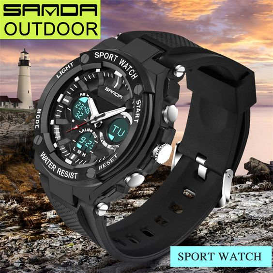 $21.80 (Buy here: https://alitems.com/g/1e8d114494ebda23ff8b16525dc3e8/?i=5&ulp=https%3A%2F%2Fwww.aliexpress.com%2Fitem%2FNew-SANDA-Brand-733-Three-eyes-Back-Light-Luxury-Watch-Men-LED-Dual-Display-Date-Week%2F32729198405.html ) New SANDA Brand 733 Three eyes Back Light Luxury Watch Men LED Dual Display Date Week Display Mens Watches relojes deportivos for just $21.80