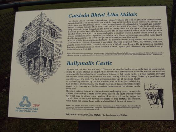 Ballymalis Castle - Co. Kerry - Ireland