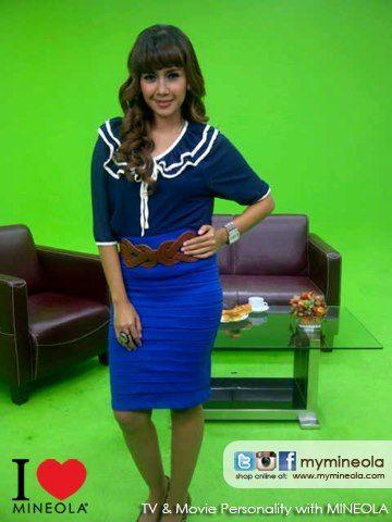 Wiwid Salman - MNC TV - Program Lintas Pagi akhir pekan with wardrobe from MINEOLA