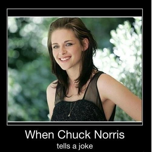 Ooohh, this is good!!!: Giggle, Funny Pictures, Kristen Stewart, Funny Stuff, Best Chuck Norris Jokes, So Funny, Norris Tells, Stewart Smiles
