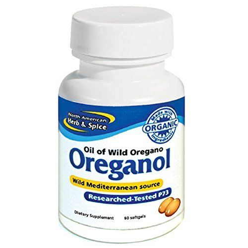 North American Herb And Spice Oreganol P73 Gel Capsules 60 Count Natural Apple Cider Vinegar Nutritional Supplements Herbs