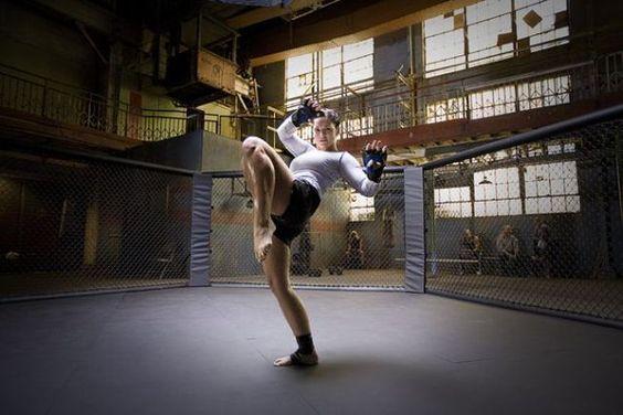 Gina Carano – the world's best female Thai boxer