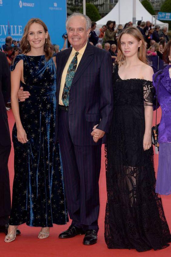 Ana Girardot, Frédéric Mitterrand et Sara Forestier