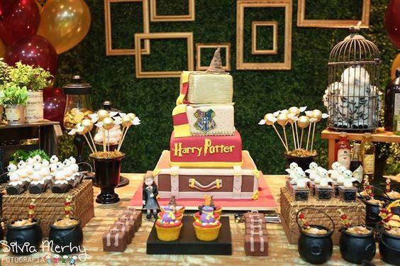 aniversário no Tema HARY POTTER-maesbrasileiras.com.br5: