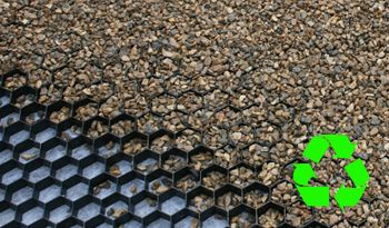 COREgravel HD Recycled Core Gravel UK Ltd manufacture, supply and install Eco-friendly solutions for ground stabilisation.