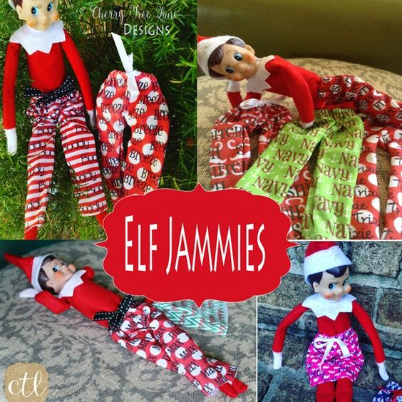 $11.24 | Personalized Elf Pajamas