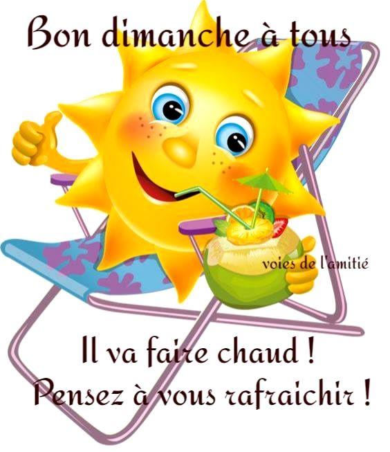Dimanche Image 7607 Bon Dimanche A Tous Il Va Faire Chaud Pensez A Vous Rafraichir Emoji Drole Emoji Souriant Dessin Smiley