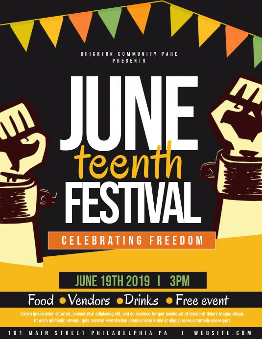 Juneteenth Black History Month Posters Black History Month Black History