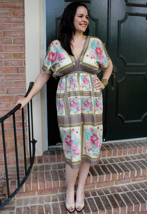 Anna Maria Horner's Museum Tunic Dress: how to sew - easy!