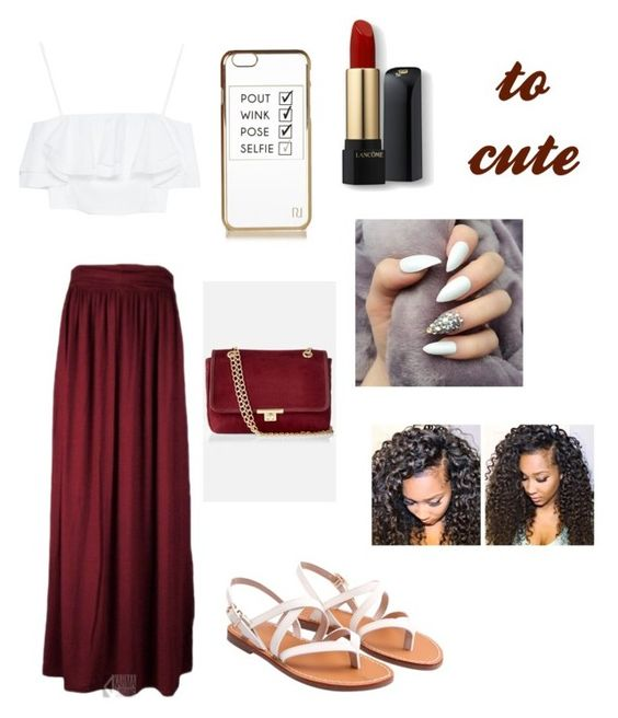 """""""Untitled #83"""" by vpiota ❤ liked on Polyvore featuring Zara, Express, River Island and Lancôme"""