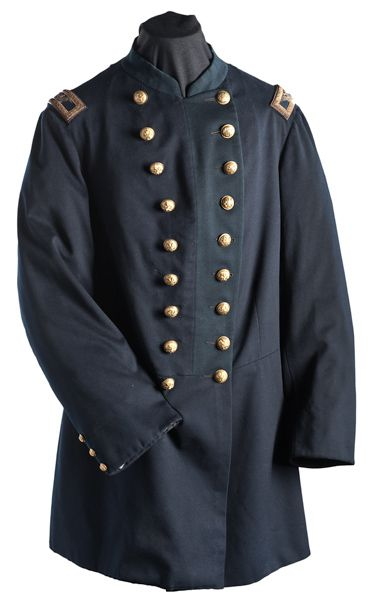 Indian War Field Officer's Colonel's Frock Coat (2010, Fall Historic Firearms and Early Militaria, Oct. 28 & 29)