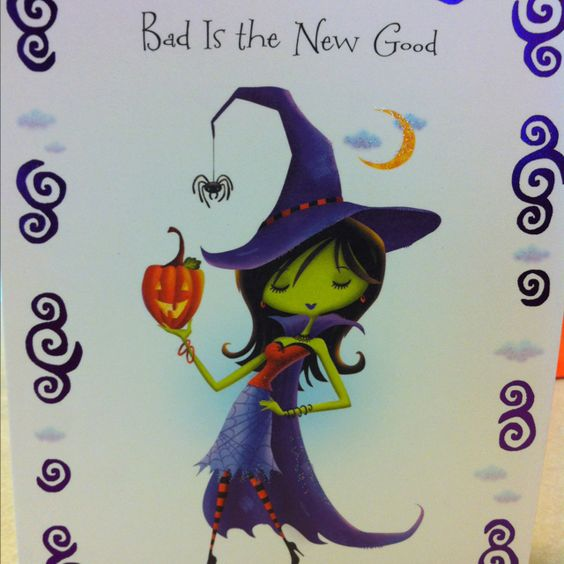Halloween card from a great friend:)