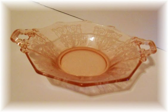 depression glassware | And I love this sweet little delicate bowl. I also have a bowl the ...