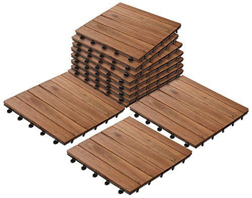 Patio Pavers Composite Decking Flooring And Deck Tiles Acacia Wood Suitable For Indoor And Outdoor Applications Composite Decking Paver Patio Deck Tiles