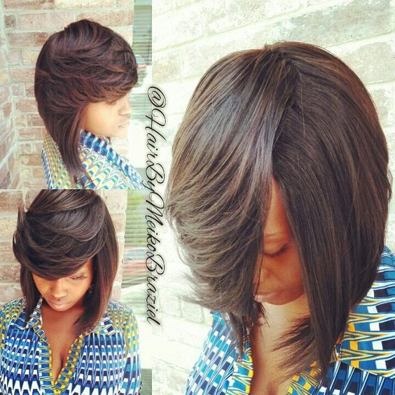 Full Quickweave Bob No Leave Out Quick Weave Hairstyles Hair Styles Short Hair Styles