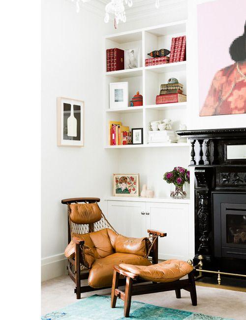 Paris apartment interior design.