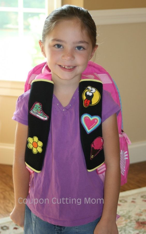 Check out this new product called Gutzy Gear. It is an awesome way for kids to personalize their backpack straps. Hurry, over you can even enter to win some of your own Gutzy Gear.