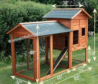 DIY Rabbit Hutch How to build a Rabbit Hutch YouTube Rabbit
