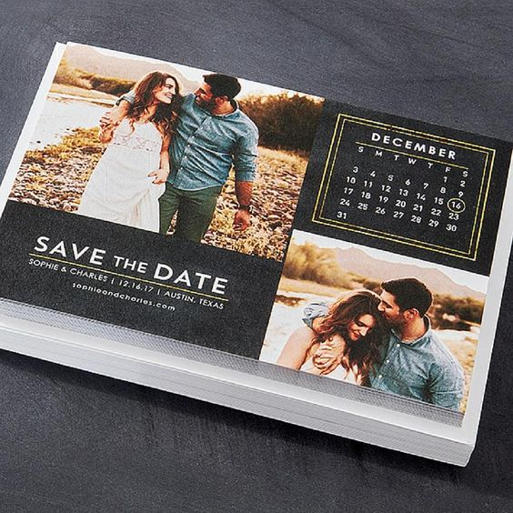When To Send Save The Date: Cards, Invitations And Almonds On Pinterest