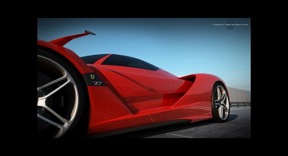 New Ferrari F70 V12 Hybrid Hypercar Through the Eyes of David Williams - Carscoop