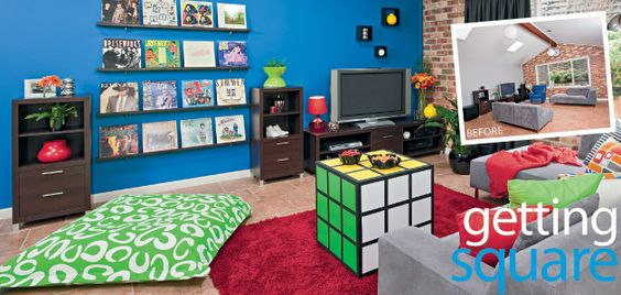 Rubik's Cube Side Table Tutorial! :) Geek-tastic!