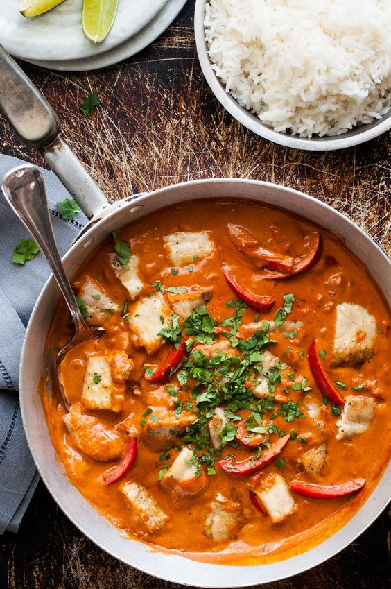... fish fish felt spices dishes fish stew stew curries lights a fan the