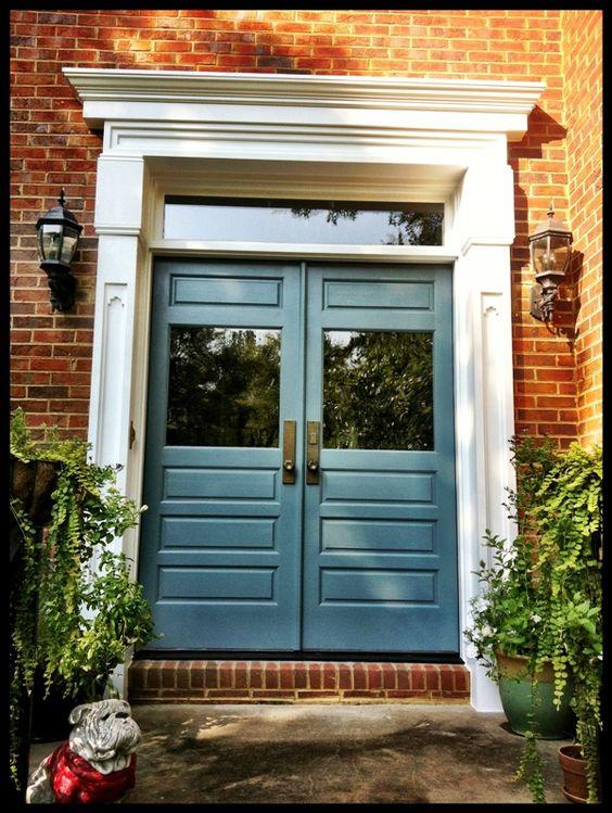 Benjamin Moore Gray And Doors On Pinterest