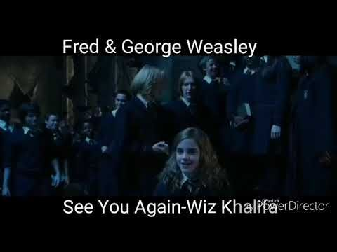 Harry Potter Character Theme Songs Youtube Harry Potter Characters Harry Potter Memes Hilarious Fred And George Weasley