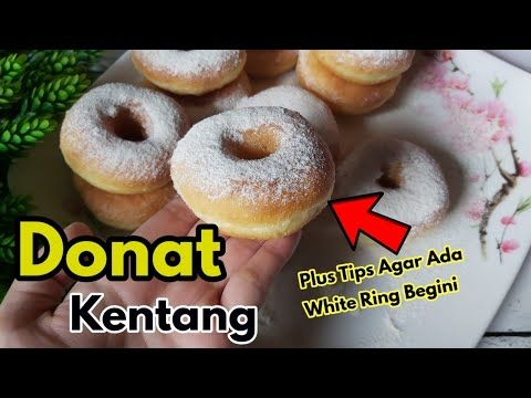 Ini Dia Resep Donat Kentang Super Empuk Terbukti Youtube Indonesian Food Snack Cake Snacks