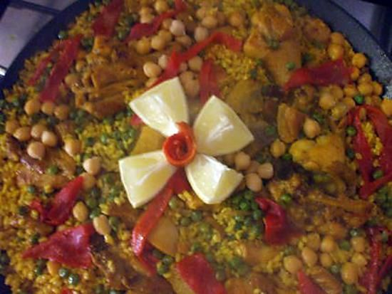 """recette """" Arroz Mixto... con pollo y magro ..""""...(...Riz ...au Porc et au Poulet...)"""