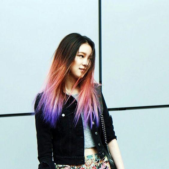 Irene's hair
