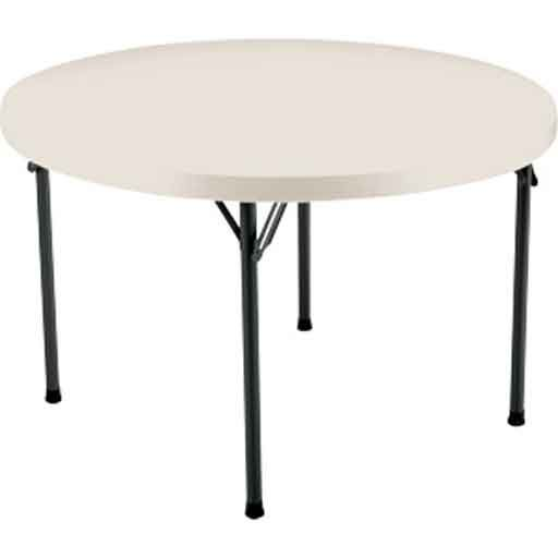Costco 48 Round Folding Table In White In 2019 Round Folding Table Table Deck Furniture